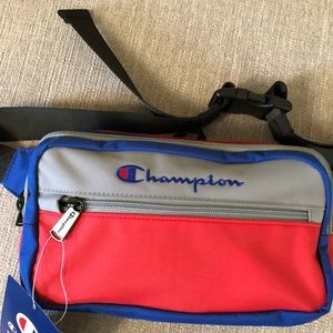 Champion color block waist pack